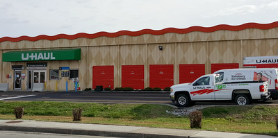 U haul of salisbury expands storage with new property for Backyard barns fruitland md