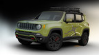 An off-road Mopar-equipped Jeep(R) Renegade to be displayed at the 2015 NAIAS in Detroit