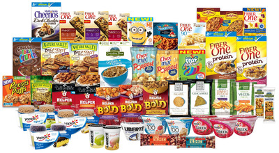 Today General Mills announced an aggressive lineup of new products set to bring more consumers to General Mills' leading brands and drive profitability for the company. More than 50 new items will debut from the company's U.S. Retail business with dozens more rolling out in international markets during the second-half of the company's fiscal 2014, which ends in May. (PRNewsFoto/General Mills) (PRNewsFoto/GENERAL MILLS)
