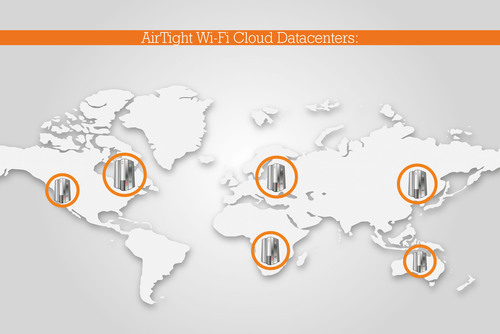 AirTight Wi-Fi Provides World's Largest Cloud Footprint; Six Globally Deployed Secure Datacenters Offer Massively Scalable Architecture. AirTight Positions Its Cloud Services to Handle the Growing Needs of Enterprise Customers. AirTight Networks, the leading provider of secure Wi-Fi Solutions, has constructed the world's largest cloud footprint available today with tens of thousands of Wi-Fi networks attached to the AirTight Cloud, Cloud managed wireless networks eliminate the cost and complexity of managing distributed Wi-Fi networks.  ...
