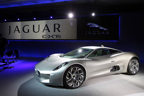 The Jaguar C-X75 Hybrid Supercar is Named Most Significant Concept Vehicle of 2011 and Receives the