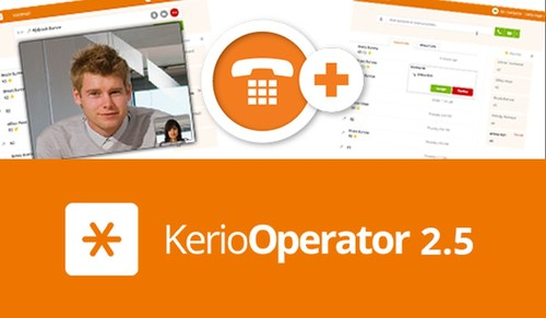 Kerio Operator 2.5 makes it easier to make & receive voice & video calls with improved performance & call ...