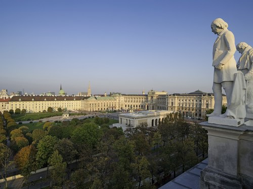 Vienna recorded around 6.6 million visitor bednights between January and June 2016 - about 4.9% more than in the same period the previous year. (PRNewsFoto/Vienna Tourist Board)