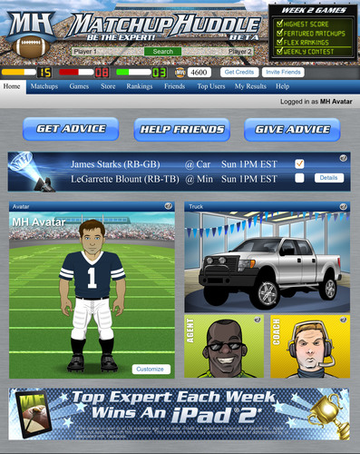 Matchup Huddle™ Turns Fantasy Football Advice into a Social Game