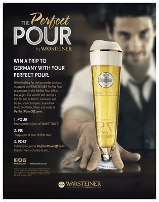 The Perfect Pour by Warsteiner