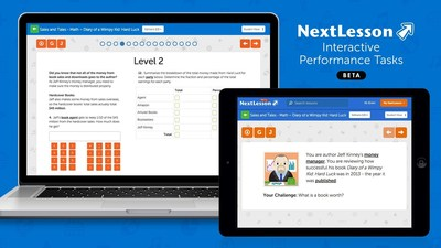 NextLesson Announces Real World Performance Tasks