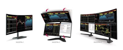 LG Electronics (LG) today announced plans for its expanded monitor lineup being unveiled next week at the 2015 International CES?. Included in the lineup is LG's 21:9 Curved UltraWide Multi-Display (34UC87M), which provides various multiple display set-up options for enhanced productivity.