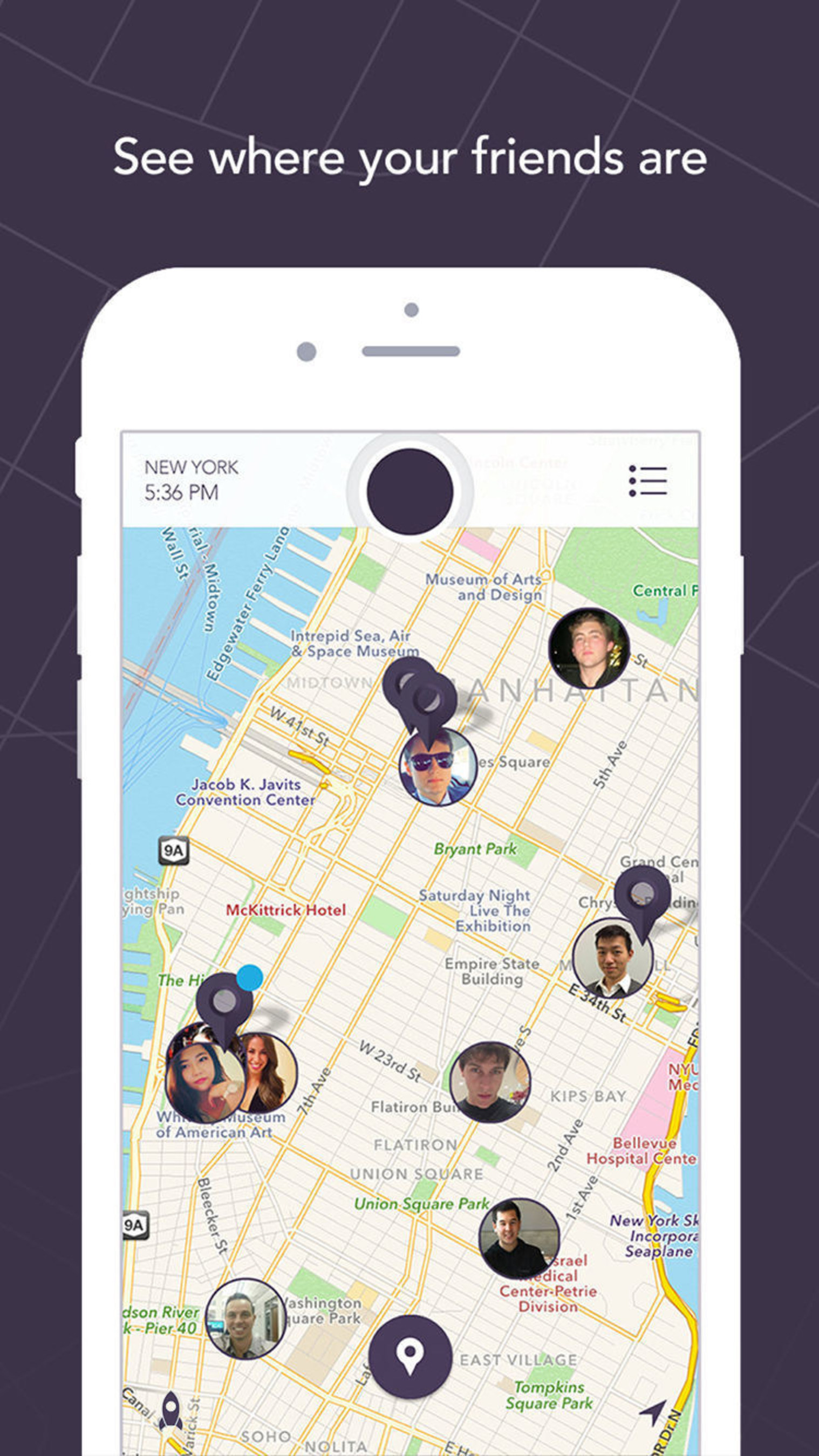 New App 'IS'' Shows Users Where Their Friends Are And What They Are Doing
