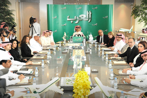 Prince Alwaleed Unveils The Name of His 24-Hour International News Channel: 'Alarab.' Global business &  ...