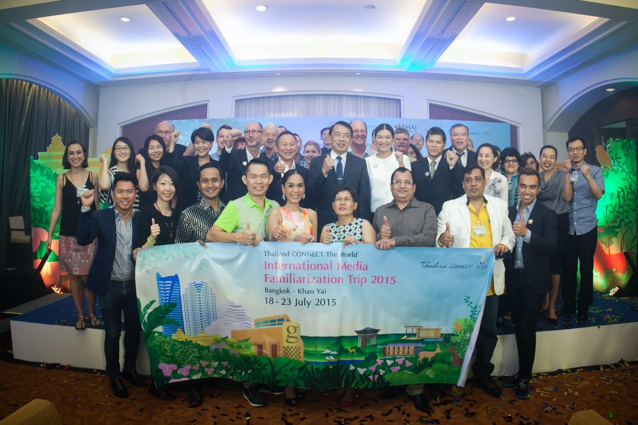 TCEB Accelerates ASEAN Success Through Thailand CONNECT The World Familiarisation Trip