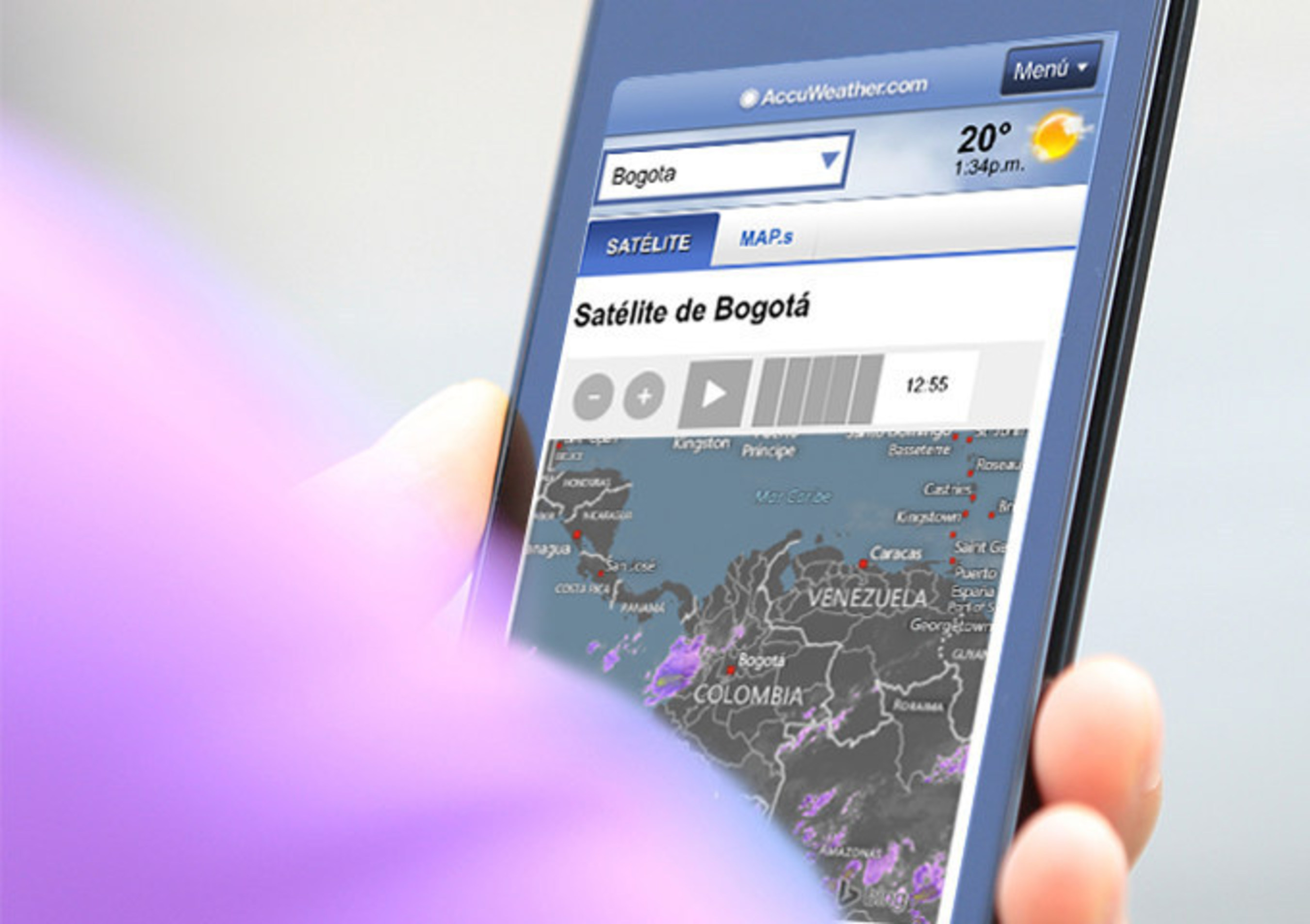 AccuWeather App For Internet.org Colombia
