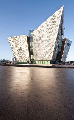 Novelis receives Jury Prize at European Aluminium Innovation Awards 2012 for a striking promotion of aluminium with Titanic Belfast.  (PRNewsFoto/Novelis)