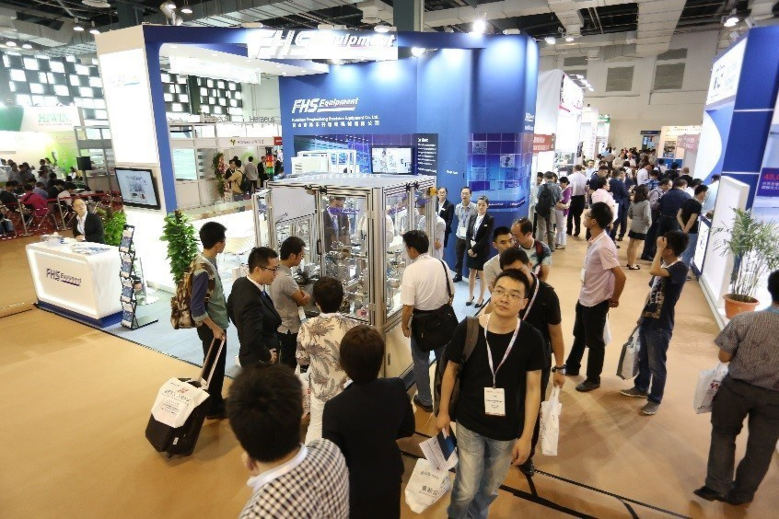 Medtec China exhibition area onsite of 2015
