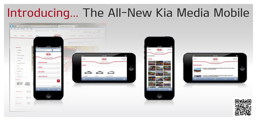 Kia Motors America Launches Mobile Version Of Kiamedia.com