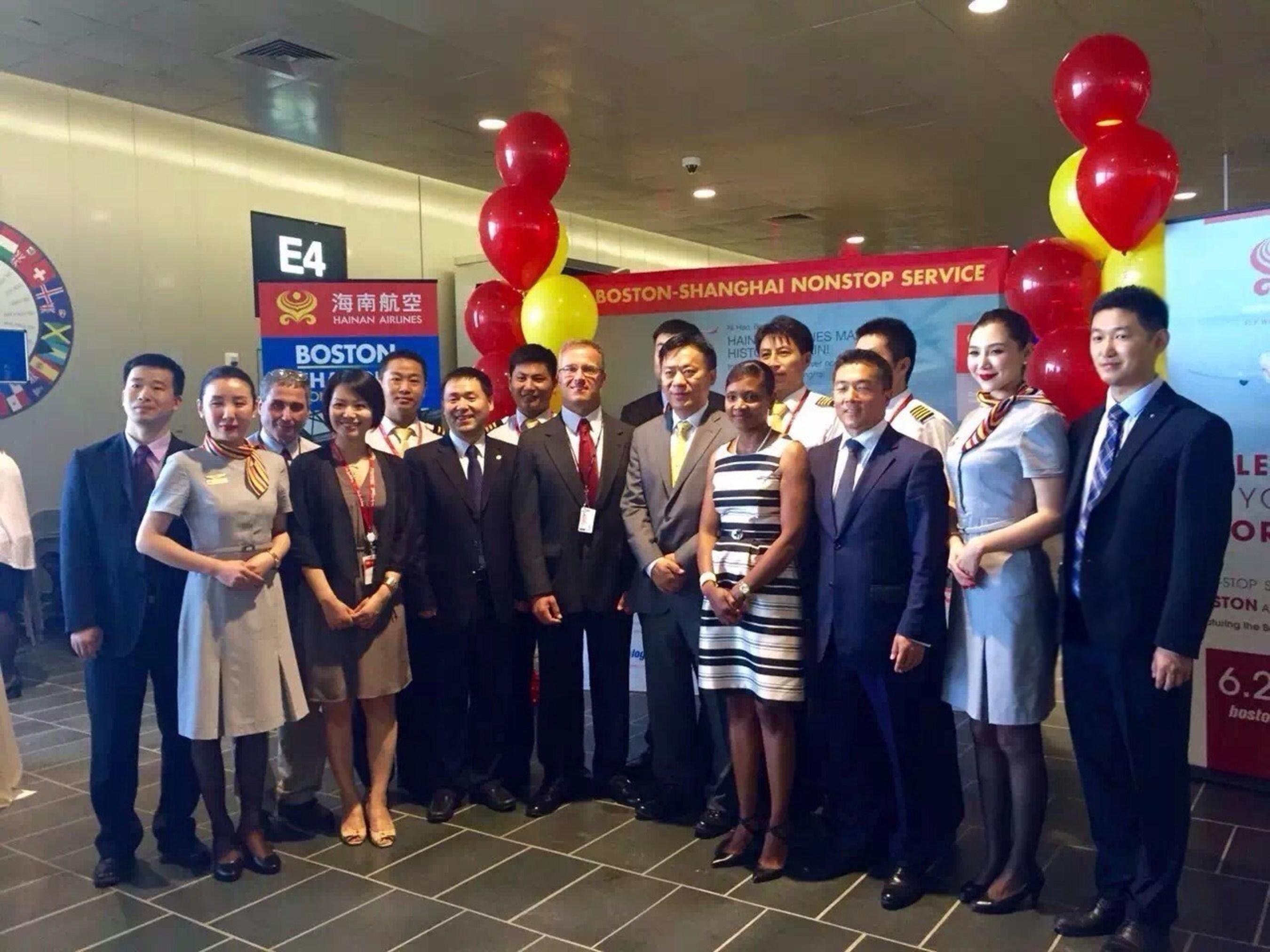 Hainan Airlines eröffnet Verbindung für Hin- und Rückflüge zwischen Shanghai und Boston