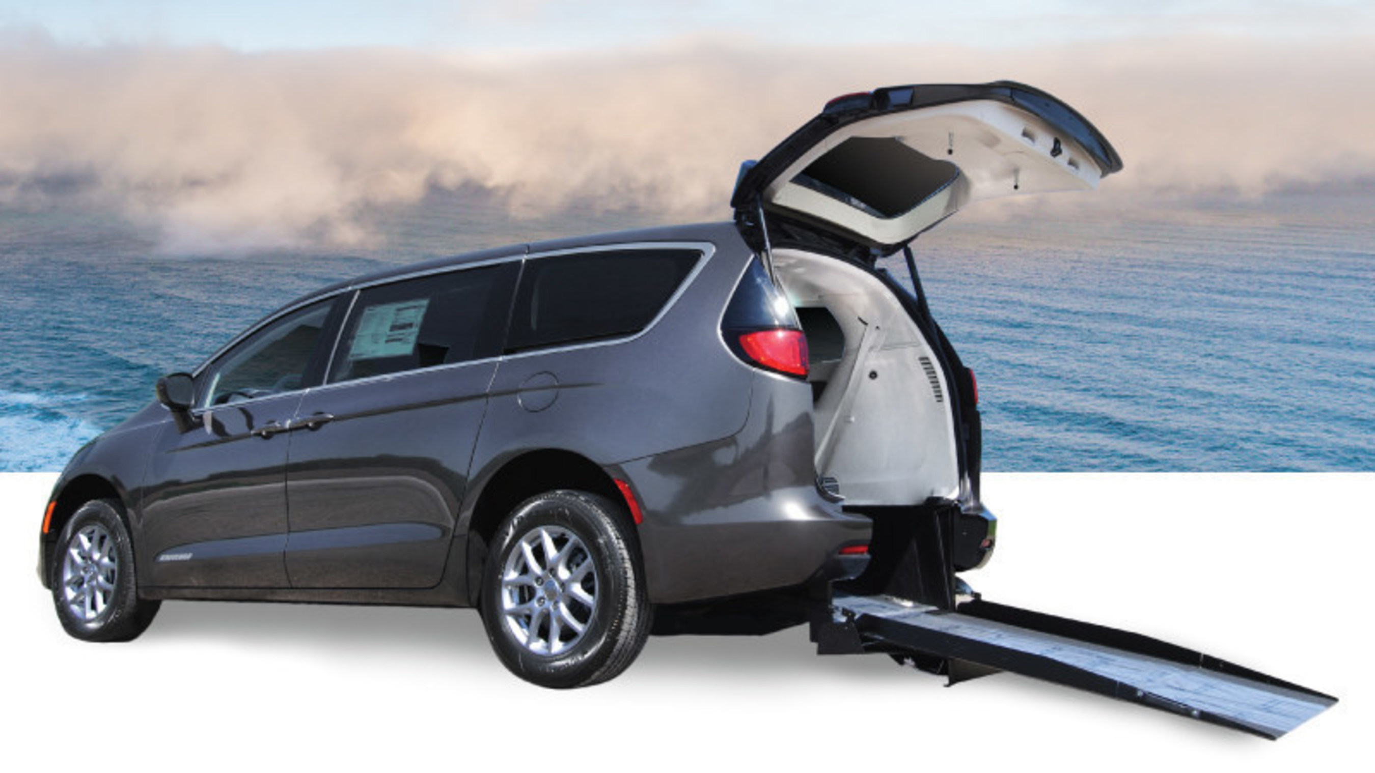 5938a6f942 Freedom Motors USA Releases First wheelchair accessible conversion of the  Chrysler Pacifica
