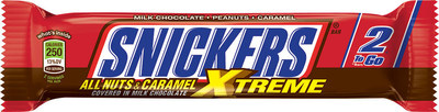 SNICKERS Xtreme Bar (PRNewsFoto/Mars, Incorporated)