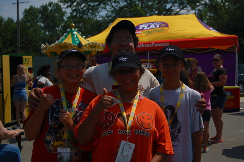 Four essay contest winners were selected at the Nathan's Famous and KaBOOM! Ready. Set. PLAY. event in ...