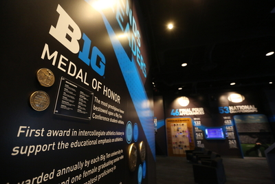 The Big Ten Conference opened the Big Ten Experience to the public on June 7. The interactive digital museum located at the conference's headquarters in Rosemont, Ill., brings the conference's storied academic and athletic history to life and places it at fans fingertips. The Big Ten Experience features a collection of 13 interactive exhibits, including a Big Ten Medal of Honor display, showcasing conference notables dating back to 1896, the year the conference was founded.