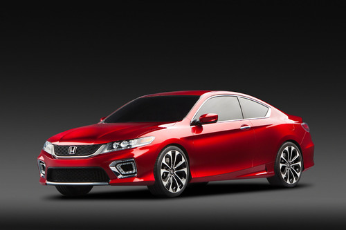 2013 Honda Accord Coupe Concept unveiled at the 2012 North American International Auto Show.  (PRNewsFoto/American Honda Motor Co., Inc.)