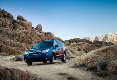 Subaru Forester Scores Second Motor Trend Sport/Utility Of The Year(r) Win. (PRNewsFoto/Subaru of America, Inc.) (PRNewsFoto/SUBARU OF AMERICA, INC.)