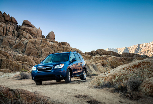 Subaru Forester Scores Second Motor Trend Sport/Utility Of The Year(r) Win.  (PRNewsFoto/Subaru of America, Inc.)