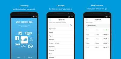 Travel Smarter with GigSky World Mobile Data