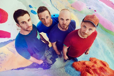 du Live! Presents Coldplay Live on Yas Island Abu Dhabi for New Year's Eve, Brought to You by FLASH Entertainment (PRNewsFoto/FLASH Entertainment)
