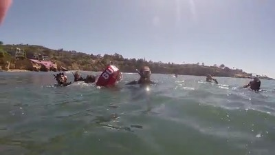 Wounded Warrior Project hosted a group of warriors to enjoy a day of snorkeling in La Jolla.