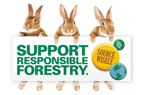 White House Easter Eggs Demonstrate Responsible Forestry. (PRNewsFoto/SFI Inc.) (PRNewsFoto/SFI INC.)