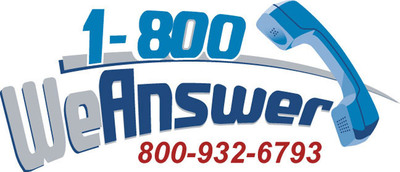 1-800 We Answer Answering Service.  (PRNewsFoto/1-800 We Answer, Inc.)