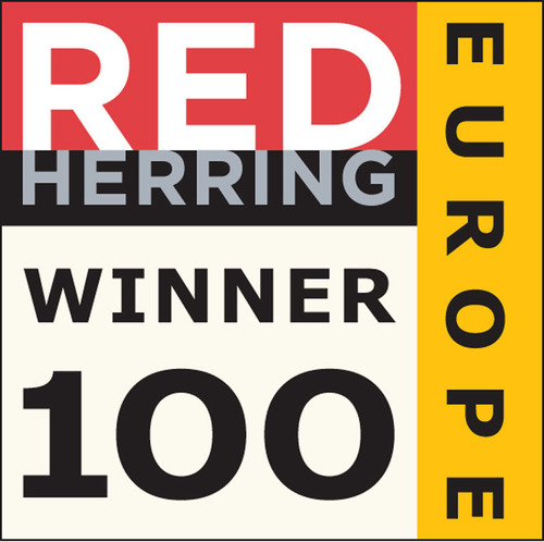 BONESUPPORT Receives Red Herring 2012 Top 100 Europe Award.  (PRNewsFoto/BONESUPPORT)