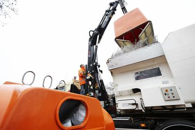Ruukki Raex and Optim steels are ideal for the manufacture of machines and containers used in waste transportation, handling and recycling.