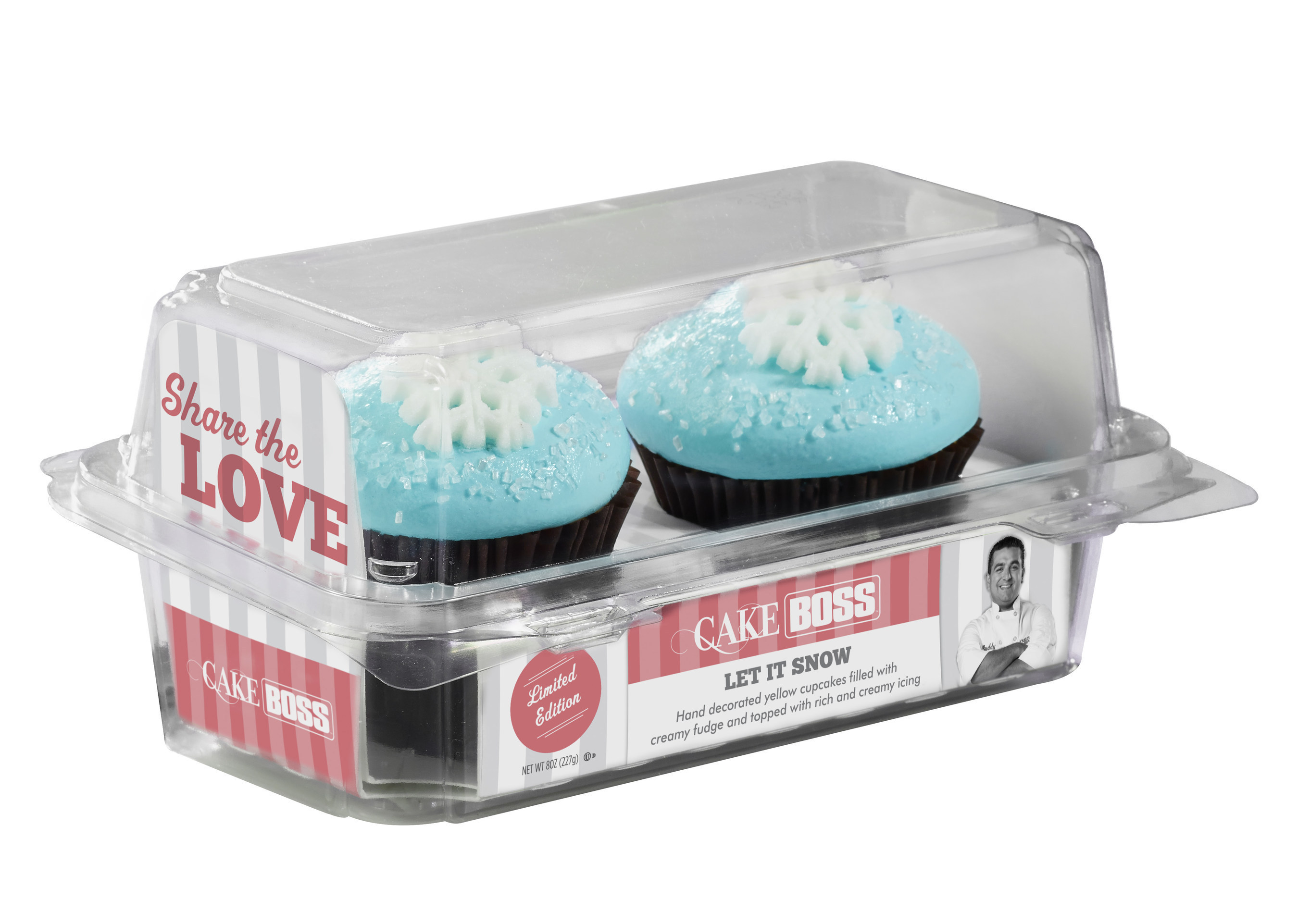 Cake Boss Let It Snow 2-count Cupcakes