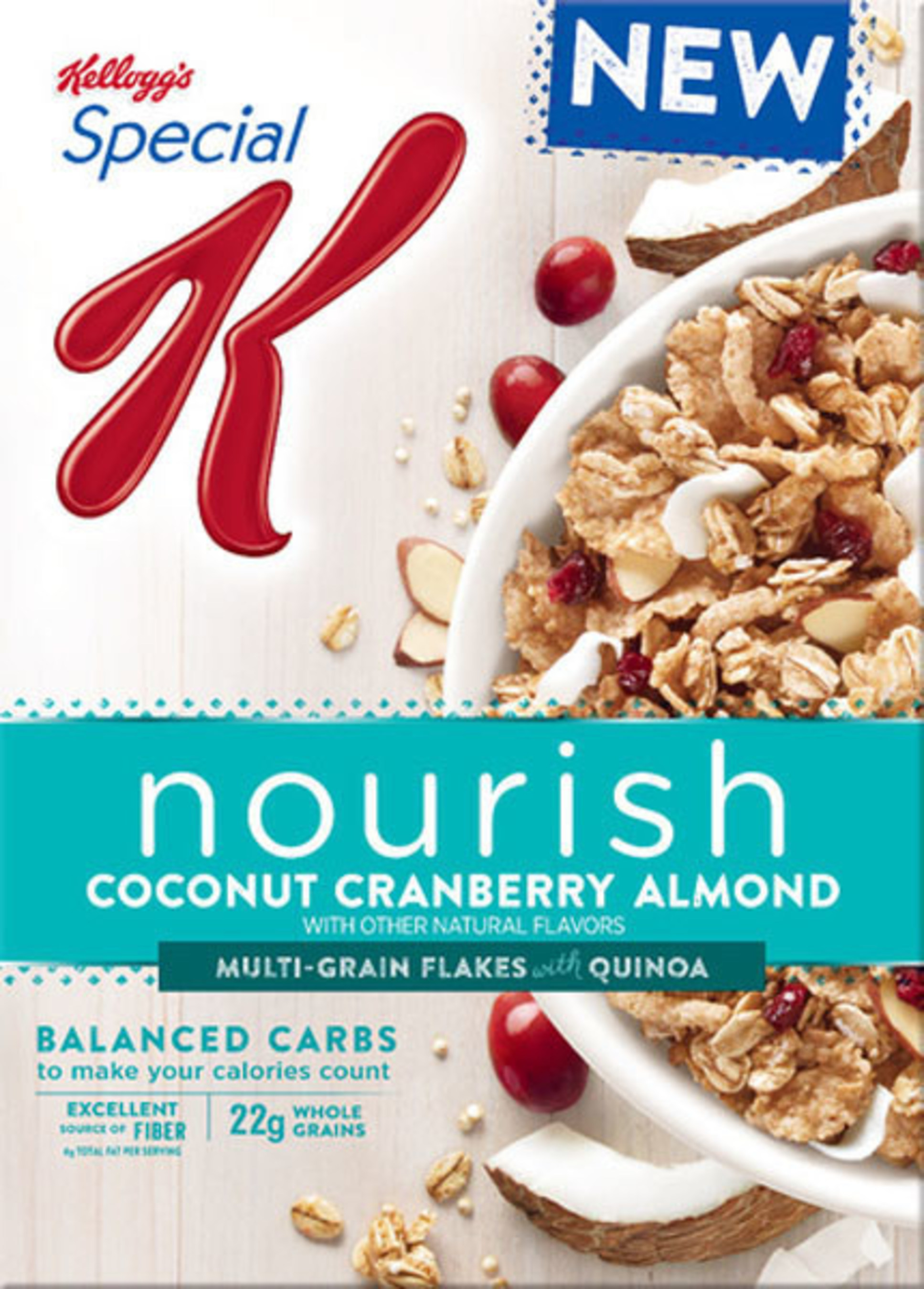 Special K Nourish Coconut Cranberry Almond Cereal