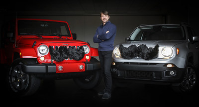 Mike Manley (Head of Jeep Brand and Ram Brand, FCA - Global) announces Jeep brand alliance with the Movember Foundation in support of men's health. (Photo credit: FCA US/Jay Bernard)