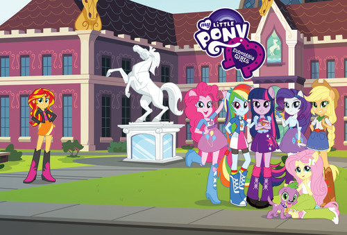 "The Hub Network has the exclusive network TV premiere of Hasbro Studios' feature film ""My Little Pony Equestria Girls"" on Sunday, Sept 1 at noon ET/9am PT.  (PRNewsFoto/The Hub Network)"
