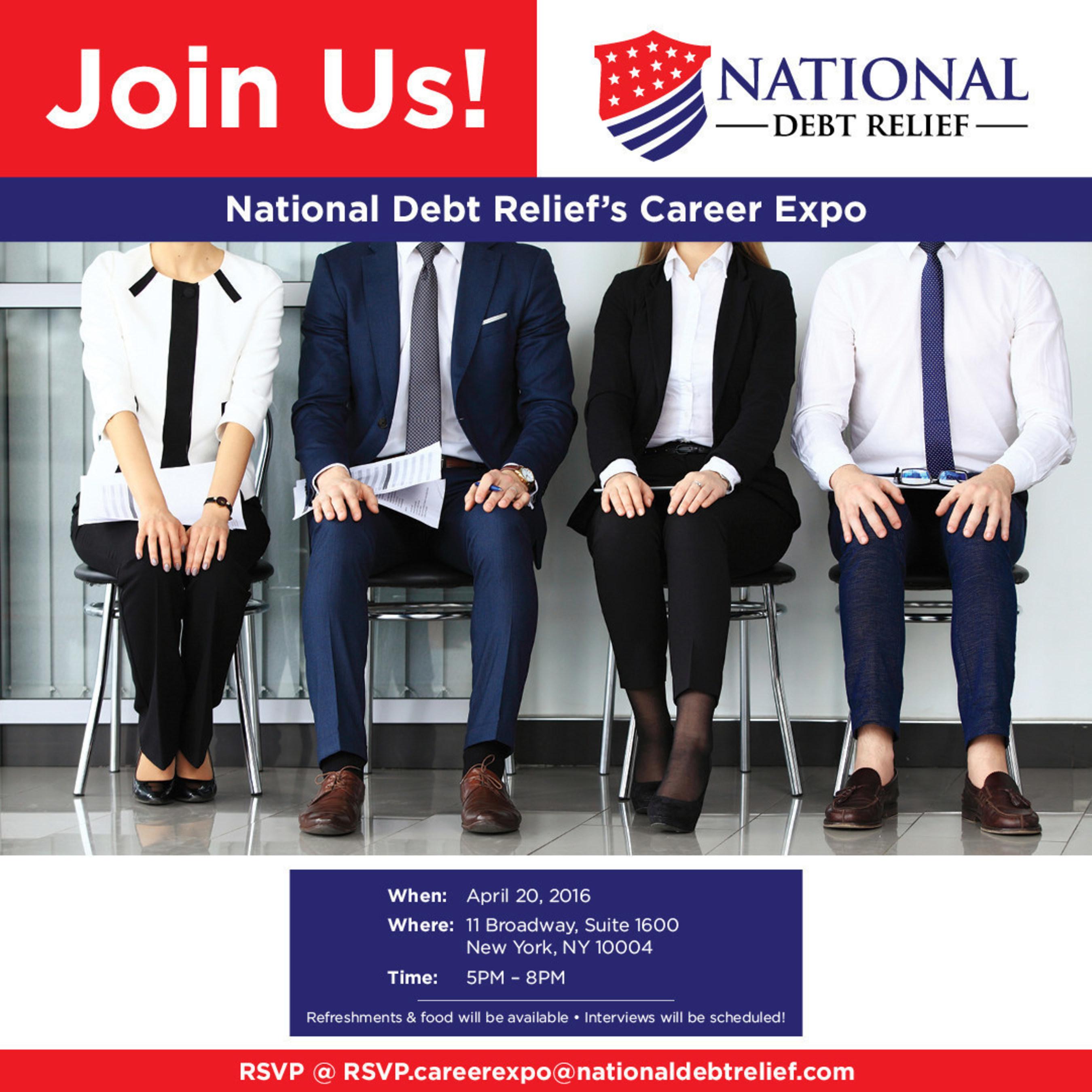 New York City Job Fair With National Debt Relief