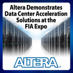 Altera FPGAs enable the lowest latency for network and algorithm acceleration. Altera demonstrates data center acceleration solutions for the derivatives industry at the FIA Expo in Chicago, November 3-5.