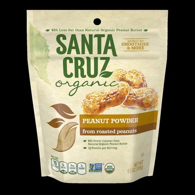 Substitute traditional peanut butter with Santa Cruz Organic(R) Peanut Powder in smoothies and favorite peanut butter recipes.