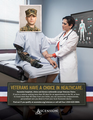 Ascension is now an official provider of veteran care outside the VA.