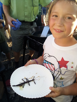 Kids Love The Bug Fest. (PRNewsFoto/Marjory Wildcraft)