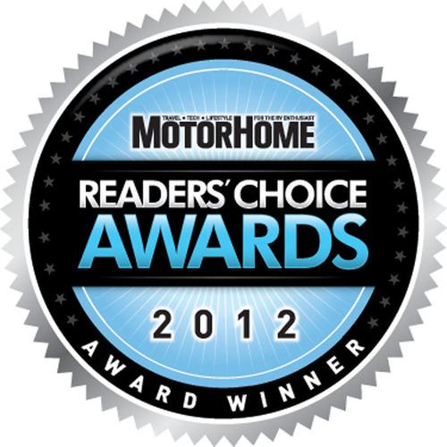 Winnebago Industries' Class A, B and C Motorhomes Receive MotorHome Magazine Readers' Choice Awards