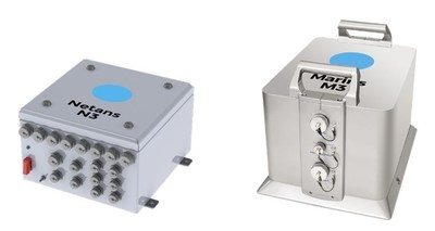 Data distribution and processing unit Netans N3  Inertial navigation system Marins M3 (PRNewsFoto/iXBlue)