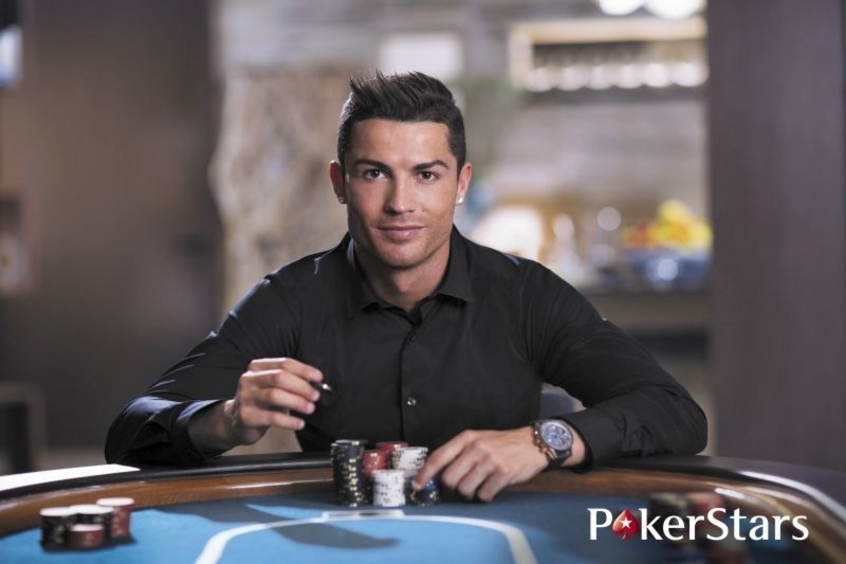 PokerStars Launches Exclusive Facebook Campaign Featuring Cristiano Ronaldo and Neymar Jr