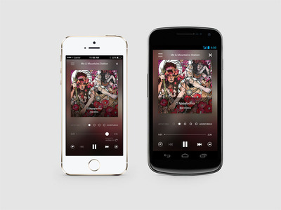 Rdio Stations on iOS and Android.  (PRNewsFoto/Rdio)