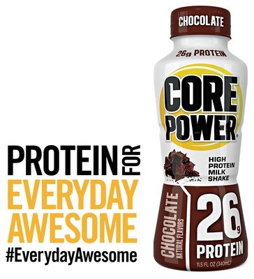 Core Power is made with high quality, high-protein real milk that is cold-filtered to power and strengthen athletes and give energy and vitality to active people.