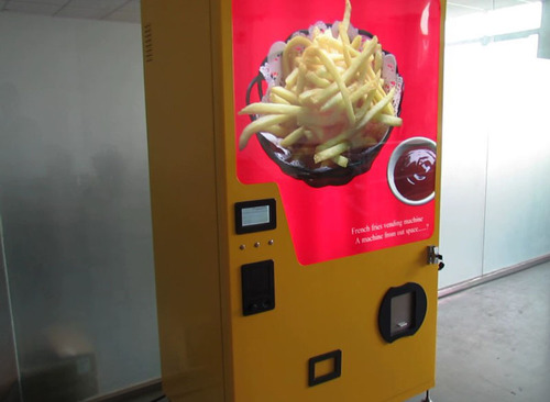 French Fries Vending Machine. (PRNewsFoto/Beyondte Electronics Co.,Limited) (PRNewsFoto/BEYONDTE ELECTRONICS ...