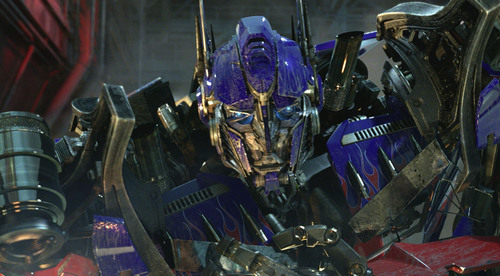 "Optimus Prime from Universal Studios Hollywood's ""Transformers: The Ride - 3D"" opening May 2012.  ..."