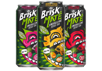 Brisk(R) Iced Tea Introduces Brisk Mate -- Iced Tea Blended with South American Yerba Mate